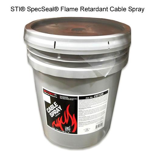 Spray ignifuge pour protection de câbles  SpecSeal® STI®